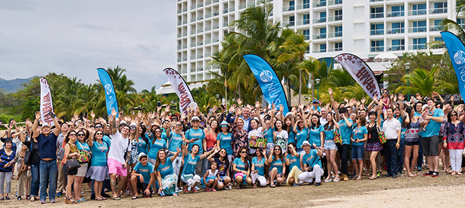 Nu Skin's leading distributors gather in Panama City